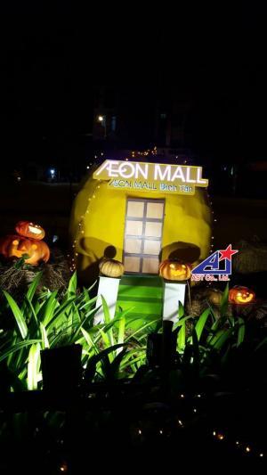Trang trí Halloween với mô hình, hoạt cảnh,...