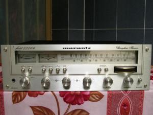Amplifier MARANZT 2226B designed in U.S.A