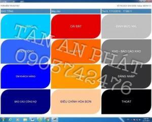 Phần mềm tính tiền cảm ứng chuyên dụng cho Nhà hàng