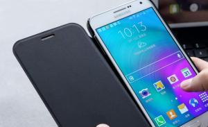 Bao da Samsung Galaxy E7 hiệu Rock chính hãng