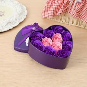 Hoa hồng sáp trái tim - Món quà 20/10 độc đáo dành tặng cho người ấy - MSN383102