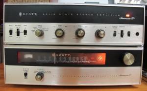 Ampli + Tuner Scott StereoMaster 299T full box