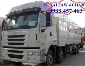 Bảng giá xe tải FAW  thùng mui bạt 17t9, xe tải FAW  17 tấn phân phối chính hãng