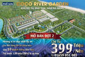 Tuần Lễ Vàng - Ưu Đãi Lên Cho Khách Hàng Hơn 300 triệu Tại Coco River Garden Nam Đà Nẵng
