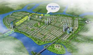 Sunland Mở Bán Biệt Thự Sông Khu Đô Thị Nam Nguyễn Tri Phương Block B2.47