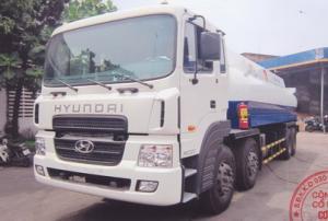 Bồn Xăng Dầu Hyundai 18 khối 21 khối 25 khối,Xi téc Hyundai HD320,HD360