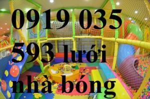 Lưới an toàn nhà bóng cho trẻ vui đùa