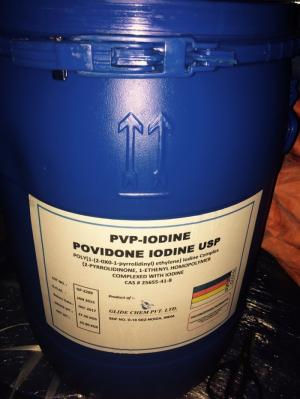 Lodine diệt khuẩn nguyên liệu của Ấn Độ
