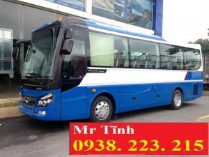 Xe 29 chỗ thaco tb82 mẫu mới; xe khách 29 chỗ bầu hơi mẫu mới thaco