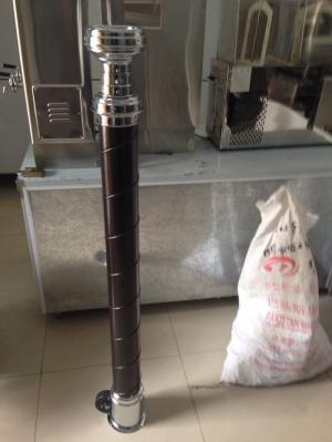 ỐNG HÚT KHÓI KIỂU HÀN QUỐC  Độ dài ống 1.4m。dài nhất có thể 2.3m miệng ống phía trên , đường kính trong 12.5cm, đường kính ngoài 16cm đường kính thân ống 9cm, đường kính trong ống 7.5cm miệng ống phía dưới , đường kính ngoài 13cm