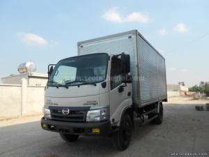 Bán xe tải Hino WU352L-NKMQHD3  3.5 tấn đóng thùng ben, kín, mui bạt,… các loại