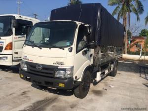 Bán xe Hino WU352L NKMQHD3 đóng thùng mui bạt, giao ngay