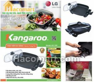 Chảo lẩu điện đa năng kangaroo KG199 cho gia đình