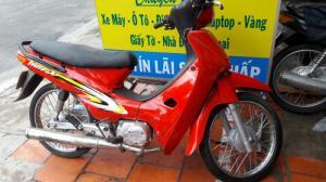 Xe máy wave trung quốc màu đỏ