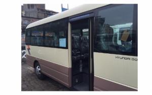 Hyundai County Đồng Vàng kính liền