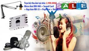 Trọn bộ micro thu âm giá rẻ