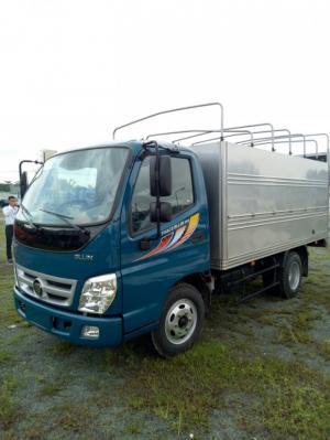 Thaco Ollin 345 tải trọng 2,4 tấn, lưu thông thành phố, bán trả góp, khuyến mãi 100% thuế trước bạ tháng 10