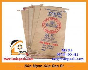 Bao giấy kraft đựng bột mì giá rẻ