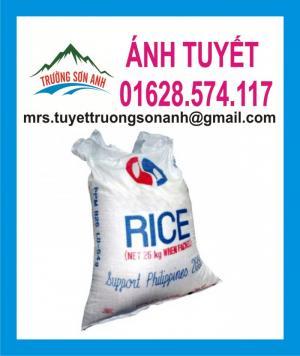 Bao gạo 10kg in flexo