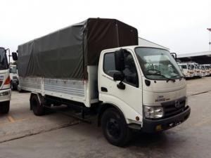 Thông tin bán xe tải Hino 4.5 tấn WU352L-NKMRJD3 thùng mui phủ bạt