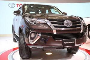 Toyota Fortuner 2017 Hoàn Toàn Mới