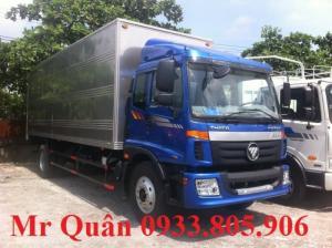 Xe tải thùng c160 thaco auman 9 tấn 3 động cơ cummin mỹ, giá tốt