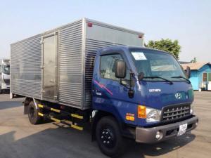 Hyundai hd 98 tải 5t7 nhập ckd thùng kín như hình giá tốt