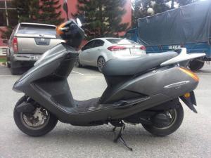 Honda @Stream 125 Màu Nòng Súng Tuyệt Đẹp - Xe Nhập Khẩu Của NHẬT