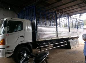 Hino FL8JTSA 15 tấn 3 chân Thùng dài 7,8 m, Bán xe tải trả góp