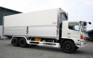 Hino FL8JTSA 15.1 tấn thiết kế thùng kín 2016, giá rẻ cạnh tranh