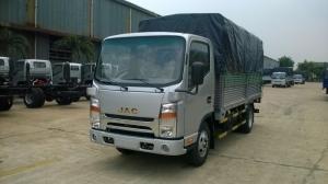 Xe tải JAC 1.99t nhận ngay ưu đãi 100% phí trước bạ và phiếu mua dầu lên đến 1000l