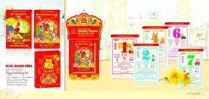 Nhận làm lịch Tết, lịch lò xo, lịch để bàn độc quyền tại Hà Nội