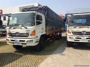 Bán xe tải Hino FL8JTSL 16 tấn thùng mui bạt 9m3, giao ngay 2016 giá 1 tỷ 540 triệu