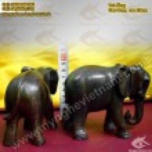 Tượng voi đồng cao 10cm và 20cm – Linh vật phong thủy