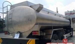 Bán xe tải Hino FL8JTSL Xitec chở dầu 16 tấn, giá cạnh tranh chỉ 1 tỷ 540 triệu