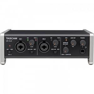 Card âm thanh thu âm Tascam US-2x2 2-Channel USB, tascam US-366
