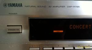 Amply Yamaha DSP-R795 mặt vàng, công suất lớn 310W
