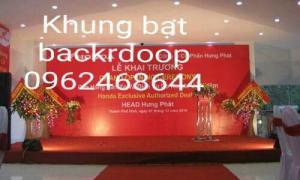 Cho thuê khung backdrop giá siêu rẻ