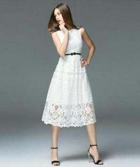 Đầm ren cao cấp phong cách châu âu