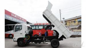 Bán xe tải Hino FC9JESW 6t4 đóng thùng ben, lửng, Xitec  giá gốc 780 triệu