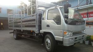 Bán xe tải jac hfc1383k, jac 9 tấn 1 thùng mui bạt, thùng kín