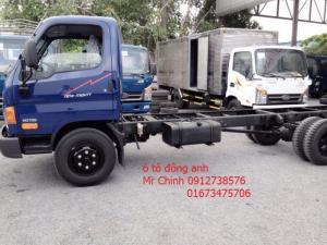 Bán xe tải veam hyundai hd700, 7 tấn, thùng mui bạt, thùng kín, giá thành rẽ