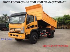 Đại lý xe tải tại Quảng Ninh, khuyến mại 100% lệ phí trước bạ