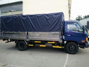 Hyundai hd 120s đã có mặt trên thi tải trọng 9t