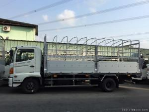 Thông tin bán xe tải Hino FC 6.2 tấn (4x2) thùng kín, lửng, mui bạt, ben các loại