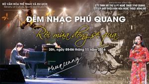 Bán vé đêm nhạc Phú Quang  Rồi mùa đông sẽ qua ngày 5&6/11/2016