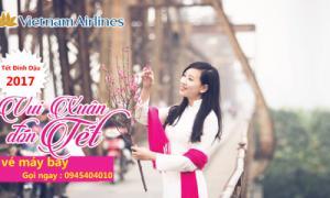Vé máy bay tết 2017 Vietnam Airlines đã mở bán