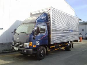 Xe tải Hyundai HD72 Thùng kín INOX