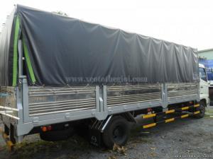 Bán xe Hino FC9JJSW- thùng mui bạt 5.7m.  Thông số kỹ thuật:
