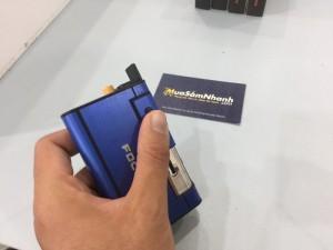 Hộp đựng thuốc lá Focus kiêm bật lửa, sang trọng - MSN383100